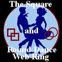 square and round dance web ring logo